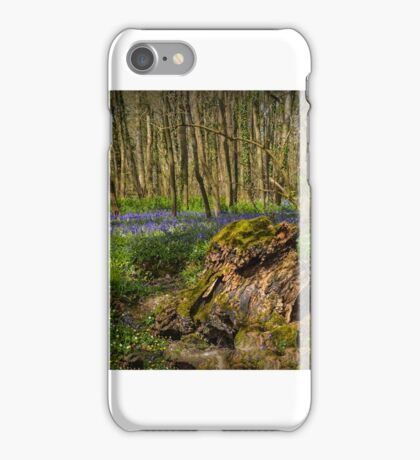 Blue Bell wood iPhone Case/Skin