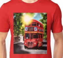 Route-Master, Red, City of London Antique Transport Unisex T-Shirt