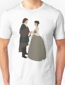 Jamie & Claire Fraser I - Outlander Unisex T-Shirt