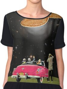 Unidentified flying object Chiffon Top