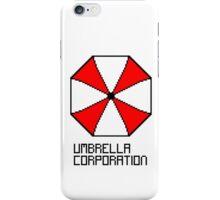 Umbrella Corporation pixel logo iPhone Case/Skin
