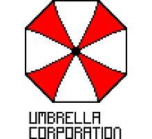 Umbrella Corporation pixel logo Photographic Print