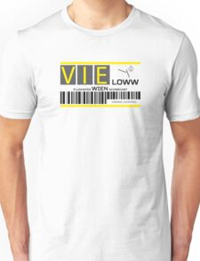 Destination Vienna Airport Unisex T-Shirt
