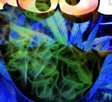 munchies monster blazed weed Sticker
