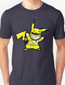 Pikachu vs Power ranger  T-Shirt