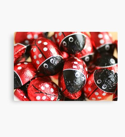 Red Wrapper Canvas Print