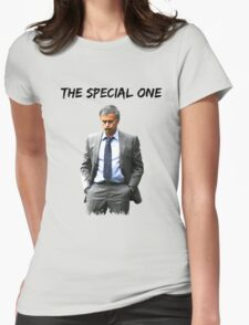 Jose Mourinho The Special one  (Red T-shirt, Phone Case & more) Womens Fitted T-Shirt