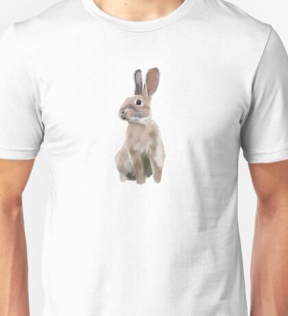 Rabbit drawing Unisex T-Shirt