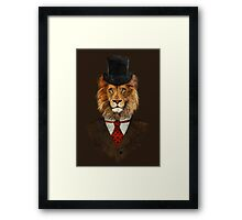Mr Willy Fog - V02 Framed Print