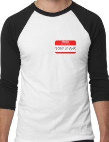 Are you Tony Stank? Men's Baseball ¾ T-Shirt