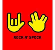 Rock N' Spock Photographic Print