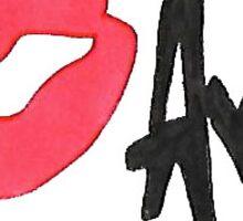 Ava Sticker