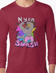 Nyan SMASH Long Sleeve T-Shirt