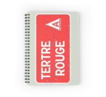 Le Mans Tertre Rouge Campsite Sign Spiral Notebook