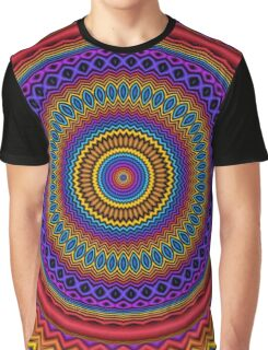 Guilloché Spirograph Graphic T-Shirt