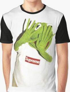 Kermit Photobomb Graphic T-Shirt