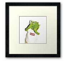 Kermit Photobomb Framed Print