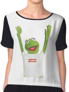 Kermit Happy Chiffon Top