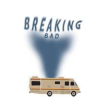 Breaking Bad RV smoke Photographic Print