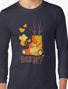 Beer? Long Sleeve T-Shirt