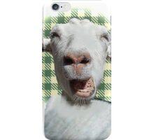 Wild goat iPhone Case/Skin