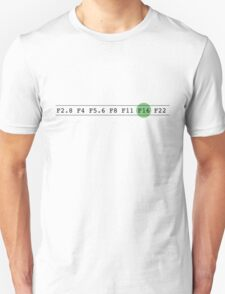 F Stops Unisex T-Shirt