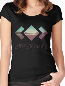 MADEON ADVENTURE Women's Fitted Scoop T-Shirt