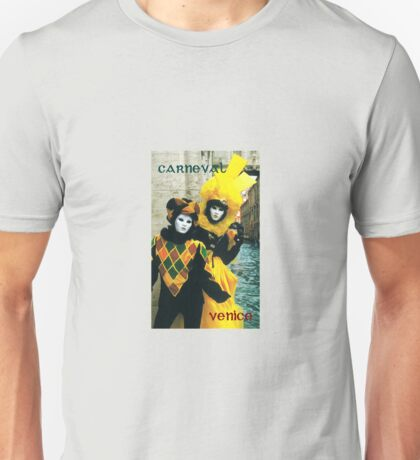 Carneval in Venice  Unisex T-Shirt