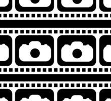 35mm Flim strips graphic Sticker