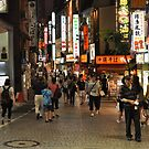 Walking in Tokyo at Night 2 by Christian Eccleston