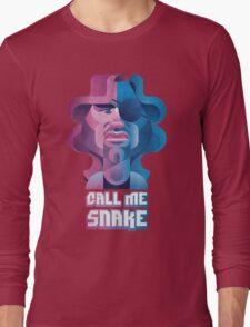 Snake Plissken (Escape From New York) Long Sleeve T-Shirt