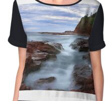 Rock Pool Chiffon Top