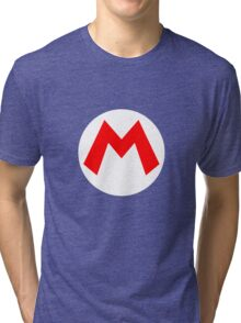 Mario Symbol Tri-blend T-Shirt
