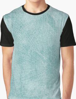 Blue crackle  Graphic T-Shirt