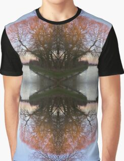 Sunset at the edge of the world Graphic T-Shirt