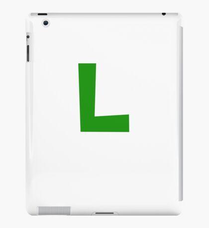 Luigi Symbol iPad Case/Skin