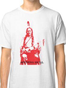 Sitting Bull - Red Classic T-Shirt