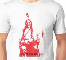 Sitting Bull - Red Unisex T-Shirt