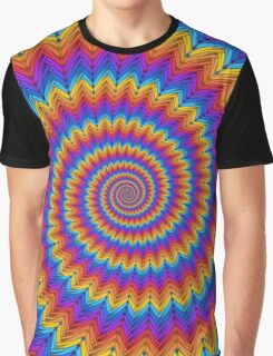 Psychedelic Spiral Graphic T-Shirt