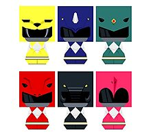 power ranger chibi Photographic Print