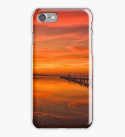 Long Jetty Sunset iPhone Case/Skin