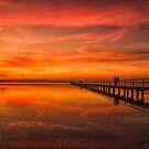 Long Jetty Sunset by yolanda