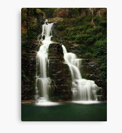 Clover Green Falls Canvas Print