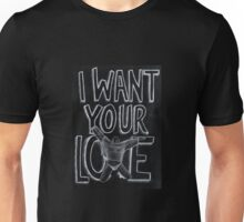 I WANT YOUR LOVE / TOM FORD + LADY GAGA Unisex T-Shirt