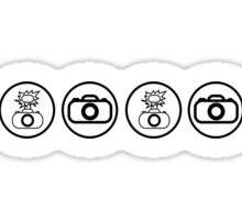 SLR Camera icons Sticker