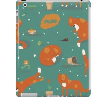 Ginger cats iPad Case/Skin
