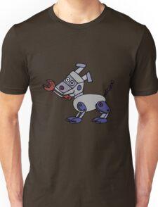 Funny Cool Robot Dog Unisex T-Shirt