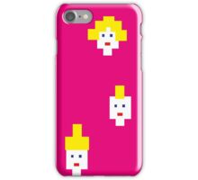 Blond and pink iPhone Case/Skin