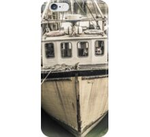 Yellow Fishing Boat - Cornwall iPhone Case/Skin