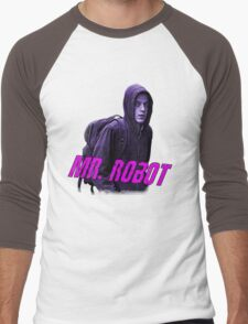 Mr.Robot's Club Men's Baseball ¾ T-Shirt